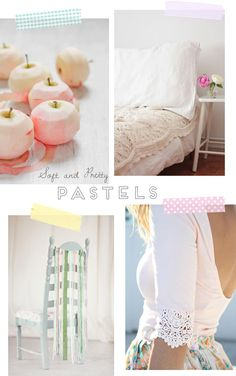 Soft & pretty pastels | At Home in Love