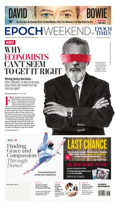 Why Economists Can't Get It Right|Epoch Times #Business #newspaper #editorialdesign