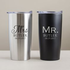Personalized Mr Mrs Tumblers Personalised Gift Shop Personalized Tumblers Personalized Bridesmaid