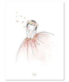 décoration poster romantique rêverie