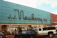 J.J. Newberry - they had a great lunch counter! Loved coming here with my mom.