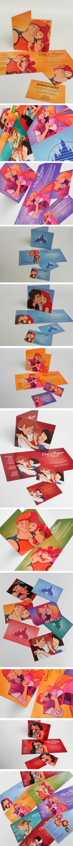 Disney trouwkaarten