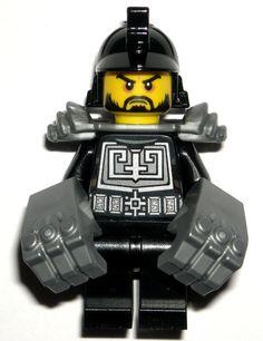 LEGO NINJAGO KARLOF MINIFIGURE Authentic Ninja Silver Gorilla Fists 70756 #LEGO