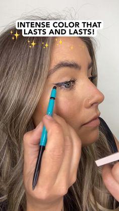 Beauty Tips For Skin, Beauty Skin, Beauty Makeup, Beauty Hacks, Hair Beauty, Smudge Proof Eyeliner, Waterproof Eyeliner, Makeup Hacks, Makeup Tips