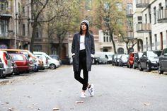 Nana Pankalla spotted i objtracy coat  www.chiclightning.com