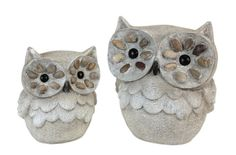 Owls are still in vogue for 2013.  These cuties would look great in your garden decor.  Come see our full line of outdoor yard art.
