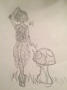 Forest ballerina sketch