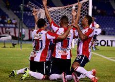 Teo y Chará debutaron con gol en el 3-0 del Junior sobre Equidad