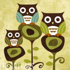 06 Owl Friends
