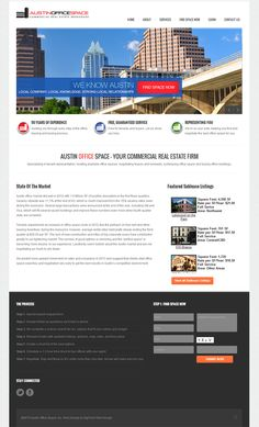 The creative team here at digITech Web Design is proud to announce the launch of our latest website design project for the lovely folks over at AustinOfficeSpac