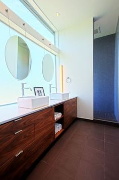 mid century modern bathroom vanity - Google Search