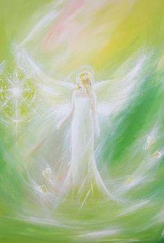 Limited angel art photo touched by magic modern by HenriettesART