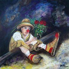 Bohóc Anna, Painting, Painting Art, Paintings, Drawings