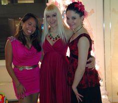 Lina Jang, Neon, Tanna Valentine #Christmasparty
