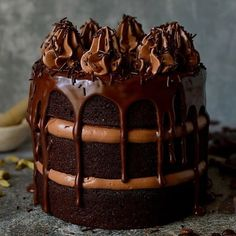 """6,824 Likes, 78 Comments - feedfeed, Julie Resnick (@thefeedfeed.chocolate) on Instagram: """"Here's what you need to know about this Coffee Cardamon Chocolate Cake by @domestic_gothess: """"three…"""""""