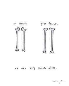 Marc Johns: we are very much alike