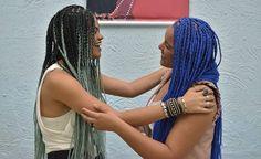 Box braids friends