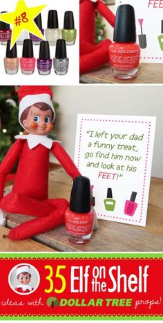Terrific Images BRAND NEW Creative & Funny Elf on the Shelf Ideas with Dollar Tree props! Suggestions 55 BRAND NEW Creative & Funny Elf on the Shelf Ideas with Dollar Tree props! – Prank – Prank m Christmas Pranks, Funny Christmas Photos, Christmas Activities, Christmas Printables, Christmas Traditions, Christmas Elf, Christmas Humor, Toddler Christmas, Christmas Presents