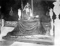 Cadáver de Benito Juárez en el Castillo de Chapultepec. Núm. Inv. 85108. SINAFO-INAH
