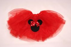 Minnie Mouse tutu skirt fun for Disney trip and by PBGBoutique Baby Girl Presents, Twins 1st Birthdays, Epcot, Disney Trips, Tutu, Minnie Mouse, Disney Princess, Trending Outfits, Unique Jewelry