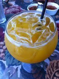 Cadillac Mango Margarita On The Rocks