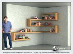 DIY Floating Shelves, bookshelf, and Wall Shelves Easy, Simple Corner Shelves, Wall Shelves, Diy Furniture, Furniture Design, Simple Furniture, Shelf Design, Home Projects, Floating Shelves, Floating Desk