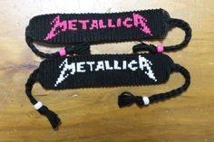 Metallica Friendship Bracelet by MoonlessXnight