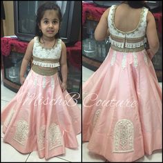 This little beauty posing for MischB Couture 😍😍😍😍 Kids Dress Wear, Kids Gown, Dresses Kids Girl, Little Girl Dresses, Kids Outfits, Baby Dresses, Kids Wear, Dress Girl, Baby Lehenga