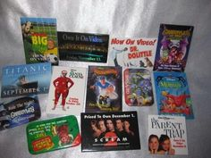 Assorted movie pins all in good condition