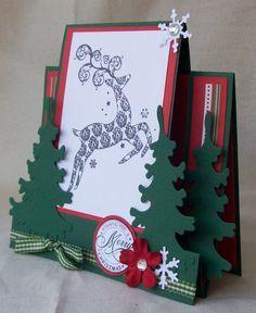 Bildergebnis für center step card christmas