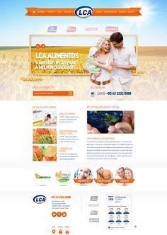 Criação de site com interface destacando todas as linhas de produtos da empresa de forma prática objetiva e com design atualizado às necessidades da empresa e de seus clientes.