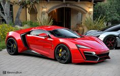 Lykan Hypersport, 24 karat gold stitching, jewels in the headlights, holographic display system