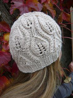 Leaf Hat- free pattern