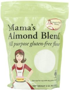 Gluten Free Bread Recipe Gluten Free Mama, Mama's Almond Blend All Purpose Gluten-Free Flour, 2 Pound Pouch (Pack of Free Mama, Mama's Almond Blend All Purpose Gluten-Free Flour, 2 Pound Pouch (Pack of Gluten Free Bread Recipe Easy, Healthy Gluten Free Recipes, Gluten Free Flour, Foods With Gluten, Gourmet Recipes, Healthy Foods, Gluten Free Dinner, Paleo Dinner, Dairy Free Options