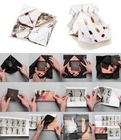 look book folding