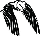 Check out this great sticker at Carstickers.com! Owl With Wings Down Sticker Native American Animal Symbols, Owl Stencil, Owl Silhouette, Owl Vector, Outline Drawings, Owl Bird, Native Art, Pyrography, American Art
