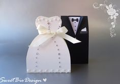 Arts And Crafts, Diy Crafts, Wedding Party Favors, Diy Box, Just Married, Wedding Planning, Wedding Ideas, Paper Flowers, Projects To Try