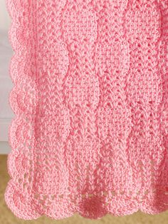 From Tunisian crochet designer and instructor Kim Guzman come 6 soft, Tunisian crochet baby blanket patterns that any baby would love to be snuggled in. These baby blanket patterns are all made in sport-weight yarn and incorporate the use of Tunisian...