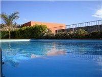 Private heatable pool