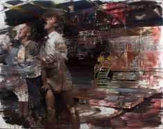 Video chat about Performance II – a Painting by Dan Voinea at https://createamixer.com/