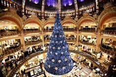 Would love to see this! A Swarovski Christmas tree at Galeries Lafayette department store in Paris, November The store inaugurated the illuminations and animated shop windows in preparation for Christmas and New Year celebrations. Unusual Christmas Trees, Beautiful Christmas Trees, Xmas Tree, Christmas Tree Decorations, Magical Christmas, Christmas In Paris, All Things Christmas, Christmas Time, Merry Christmas
