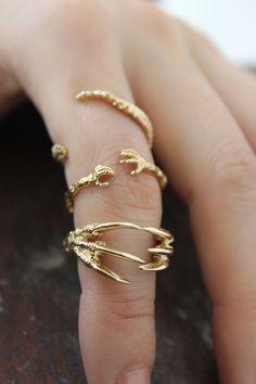 Mystery Hugs Ring http://www.aprilandthebear.com/jewellery/