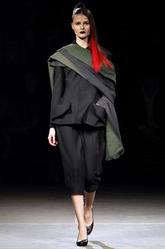 Yohji Yamamoto Autumn/Winter 2012  Collection