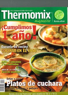Thermomix magazine nº 13 Food N, Christmas Morning, Mexican Food Recipes, Recipies, Love Food, Magazine, Slow Cooker, Cooking, Books