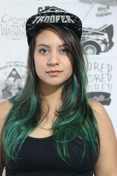 Loja banggood recebudos da lojabanggood dani rubim blogueira youtuber greenhair turquoise hair  Canal GEEKBTUTORIAIS - DANI RUBIM