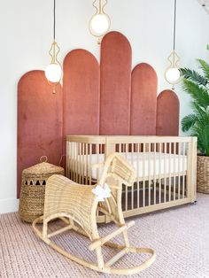 Whimsical Nursery, Boho Nursery, Nursery Neutral, Nursery Decor, Vintage Nursery Girl, Nursery Room, Baby Room, Dani Austin, Pink Headboard