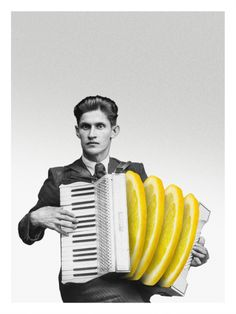 Marcos Martinez SONg digital collage photomontage Song Giclée printing on paper Hahnemühle Art Du Collage, Digital Collage, Music Collage, Collage Photo, Collages, Photomontage, Plakat Design, Arte Pop, Art Graphique