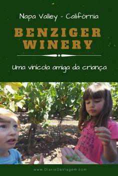 Benziger Winery: vinícola amiga da criança na Califórnia