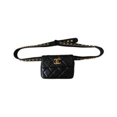 """- """"Now that I'm a mom with two-year-old twin boys running full steam 24/7, I have a new appreciation for fanny packs. But if I'm going to go there, it's got to be Chanel. I plan to wear this to the office, in Laguna Beach and in Kauai—the quilted black leather will go with everything.""""—Shannon Nash, Accessories & Jewelry Editor"""
