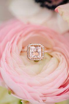 Pink wedding ring | Sylvia Photography
